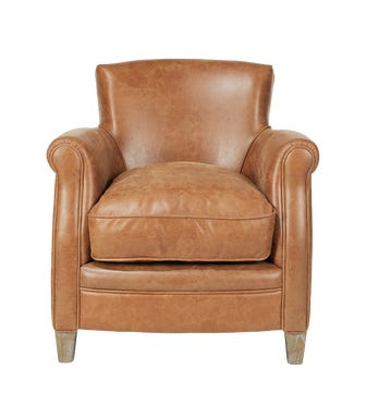 Berstone Armchair - Aged Tobacco