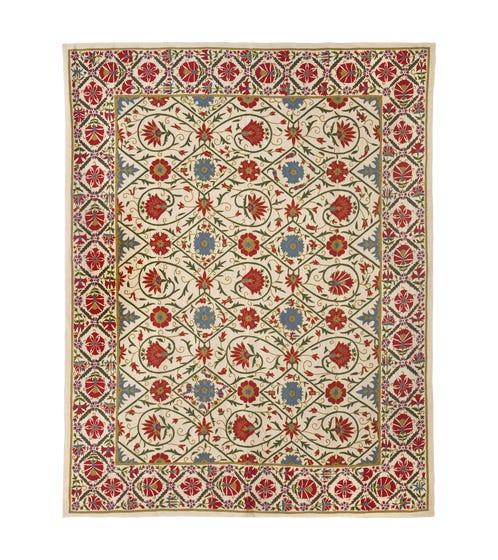 Bishkek Turkish-Design Rug, Wool