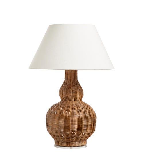 Calabash Rattan Table Lamp