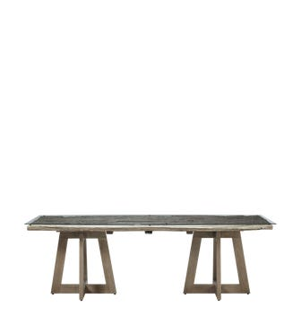 Camborne Dining Table - Aged Natural