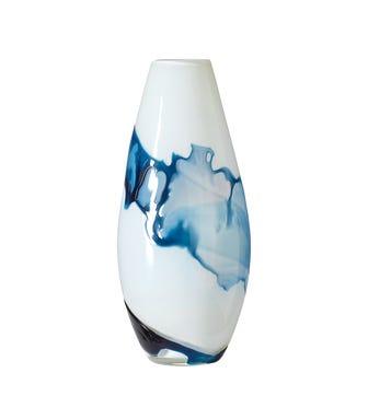 Cancale Vase - Ice Blue