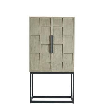 Candelaria Bar Cabinet - Slate