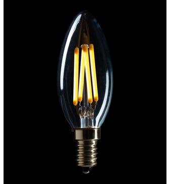 Candle 4W E14 LED Lightbulb - Warm White