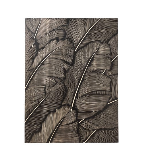 Carved Feather Wall Art - Multi