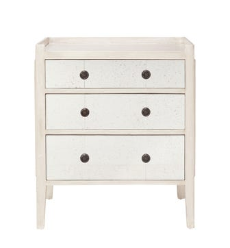 Catous Small Chest of Drawers - White