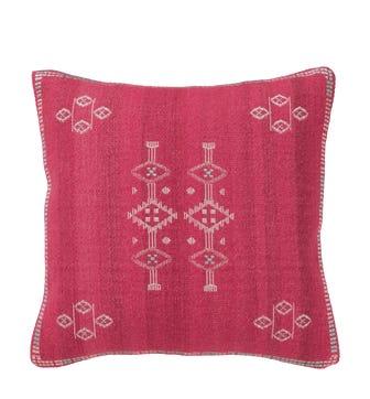 Cayuga Cushion Cover, Large - Pink
