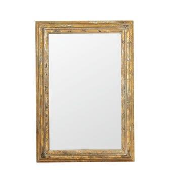 Chrysta Mirror - Distressed Gold