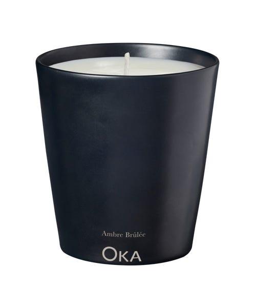 Cire Trudon Scented Candle for OKA - Ambre Br?l?e