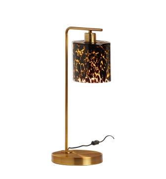 Claudette Table Lamp - Tortoiseshell