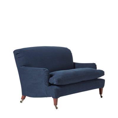 Coleridge 2-Seater Sofa - Pure Navy