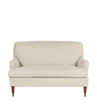 Coleridge 2-Seater Sofa With Natural Linen Cover