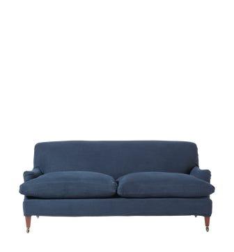 Coleridge 3-Seater Sofa - Pure Navy