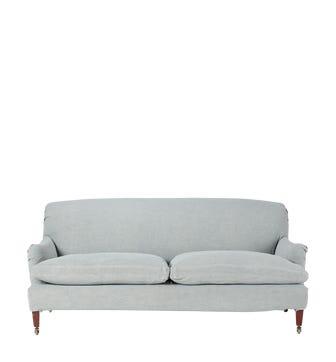 Coleridge 3-Seater Sofa Cover - Ice Blue