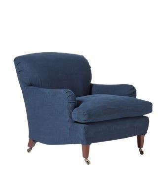Coleridge Armchair - Pure Navy