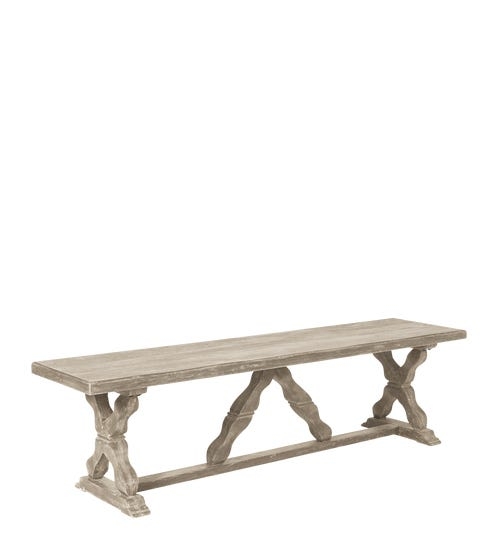 Conisbrough Bench - Gray