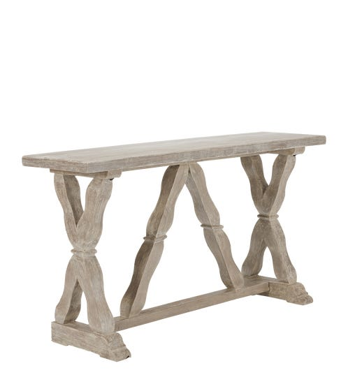 Conisbrough Console Table - Gray