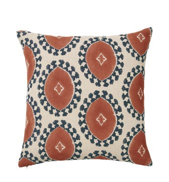 Contorno Cushion Cover Large - Dirty Orange