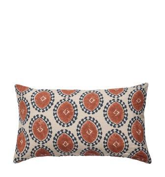 Contorno Cushion Cover Small - Dirty Orange