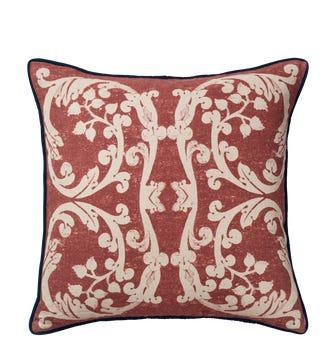 Cosmati?Cushion Cover - Red Garnet