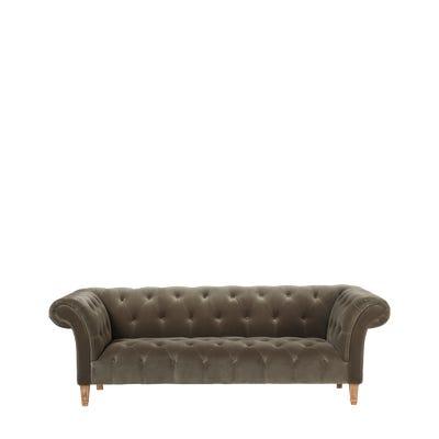 Cresselly 3-Seater Sofa - Truffle
