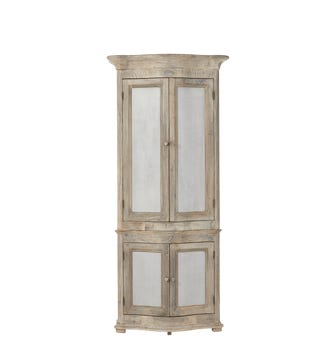 Dalaro Gustavian-Style Cabinet - Cloud Wash