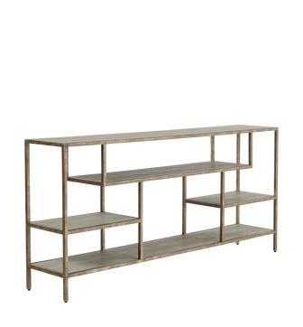 Dalu Console Table - Taupe