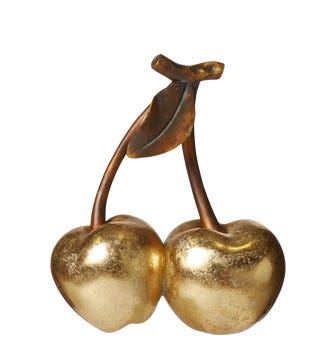 Decorative Golden Cerezas - Gold