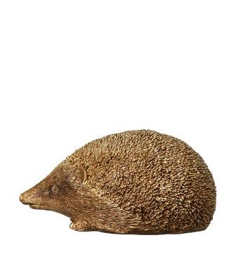 Decorative Golden Hedgehog - Gold