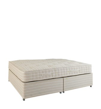 Double Divan Bed without Drawers