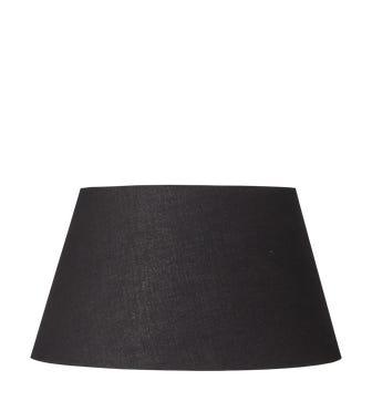 Drum Cotton Shade 26cm - Black