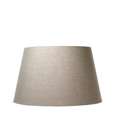 Drum Shade Cotton (56Diax33H) & Carrier - Natural