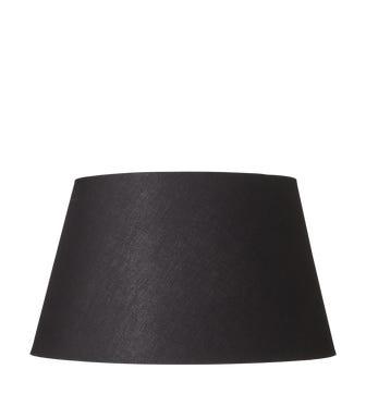 Drum Shade Cotton & Carrier 40cm - Black