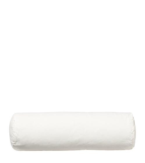 Duck Feather-Filled Bolster Cushion Pad 56x20cmDia