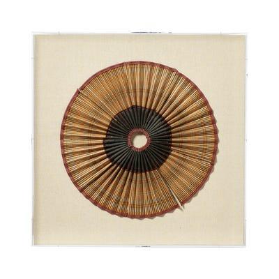 Duong Framed Textile - Multi