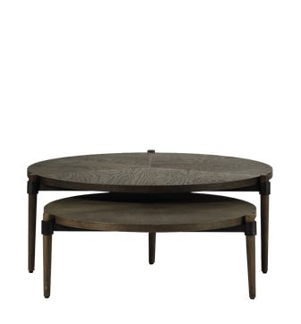 Garasu Nested Coffee Tables Set of 2