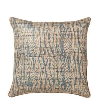 Elemeri Cushion Cover - Heron Blue