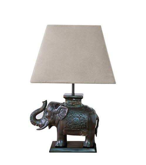 Elephant Desk Lamp - Bronze