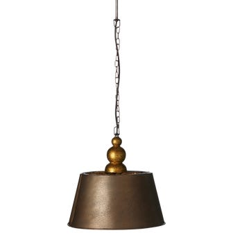 Ellington Hanging Light, Small - Gold