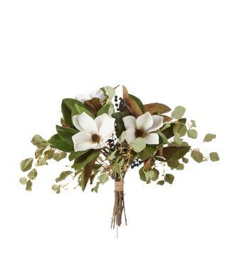 Faux Berry, Magnolia & Eucalyptus Bunch - Multi