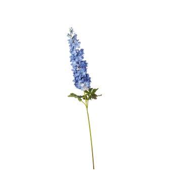 Faux Delphinium Stem - Pale Blue