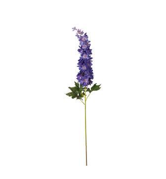 Faux Delphinium Stem - Violet