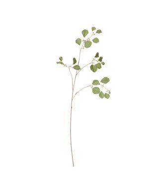 Faux Eucalyptus Stem - Pale Green