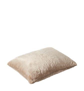 Faux Fur Pet Cushion Cover Medium - Seal Grey