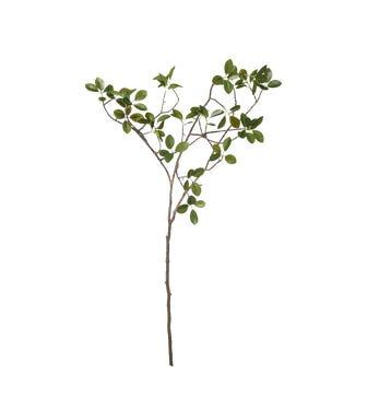 Faux Garden Shrub Branch - Green