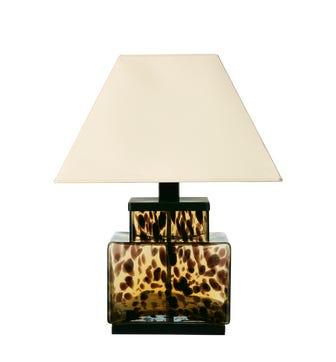 Tortoiseshell Lamp - Brown
