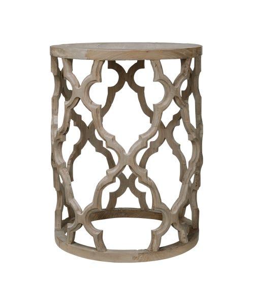 Fontana Side Table - Recycled Elm