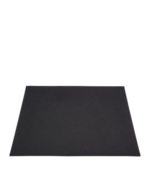 Full Rectangular Card Shade For Hooper Lamp - Black/Gold