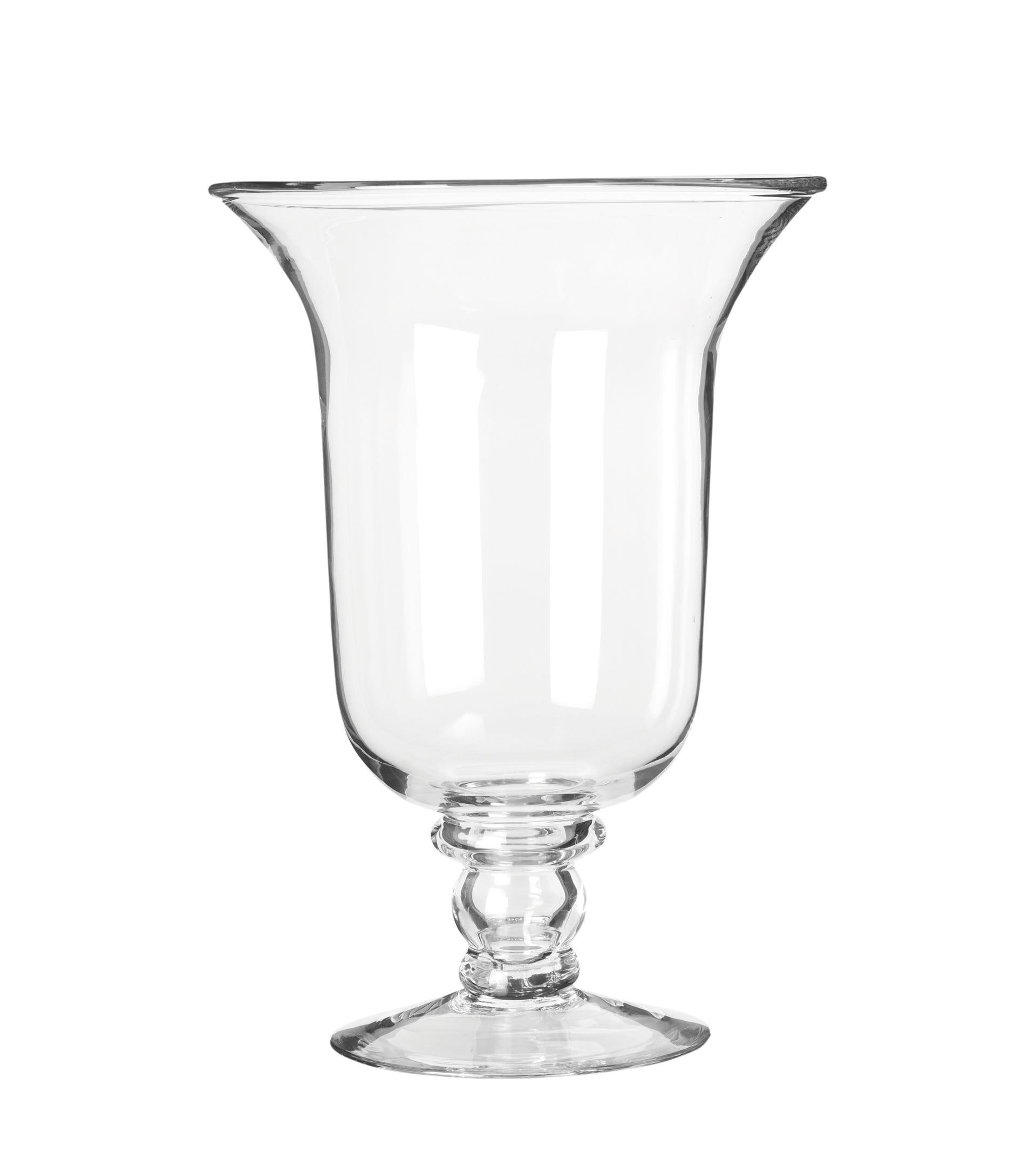 Glass Hurricane Lamp Medium Clear, Large Decorative Hurricane Lamps