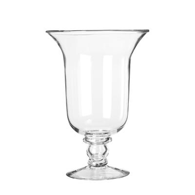 Glass Hurricane Lamp, Medium - Clear