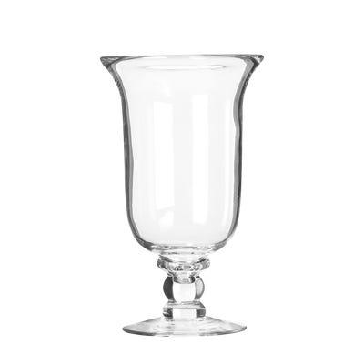 Glass Hurricane Lamp, Small - Clear
